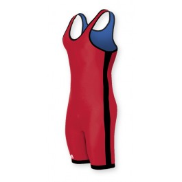 adidas Wrestling Reversible Singlet Red