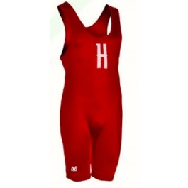 Brute Men's Solid High Performance Cut Custom Singlet