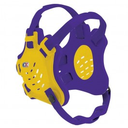 Cliff Keen Custom Tornado Headgear gold/purple/purple