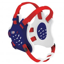 Cliff Keen Custom Tornado Headgear navy/white/scarlet
