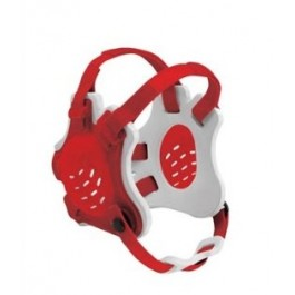 Cliff Keen Custom Tornado Headgear scarlet/white/scarlet