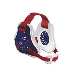 Cliff Keen Custom Twister Headgear navy/white/scarlet