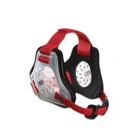 Cliff Keen Custom Twister Headgear transparent/black/scarlet