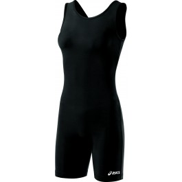 Asics Women's Solid Modified Singlet Black