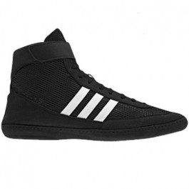 Adidas Combat Speed 4 Wrestling Shoes black-white-black