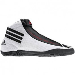 Adidas adiZERO Sydney Wrestling Shoes white-black-collegiate red