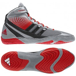 Adidas Response 3.1 Wrestling Shoes silver-red-black