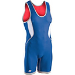 Brute Men's Ventilated Reversible Singlet red/royal/white/grey
