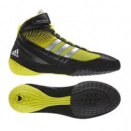 Adidas Response 3.1 Wrestling Shoes black-lime-silver