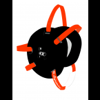 Cliff Keen Custom Signature Headgear black/orange