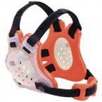 Cliff Keen Custom Tornado Headgear transparent/orange/black