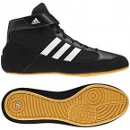 Adidas HVC Wrestling Shoes black-running white-gum