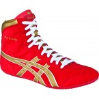 Asics Dave Schultz Classic Adult Wrestling Shoes red-gold-white