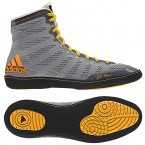 Adidas adizero Varner Wrestling Shoes grey-black-gold
