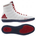 Adidas adizero Varner Wrestling Shoes white-navy-red