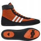 Adidas Combat Speed 4 Wrestling Shoes orange-black-white