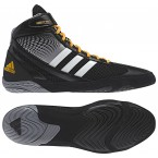 Adidas Response 3.1 Wrestling Shoes black-grey-white-solar gold