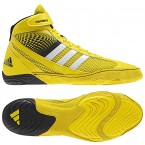 Adidas Response 3.1 Wrestling Shoes bright yellow-white-black