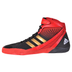 Adidas Response 3.1 Wrestling Shoes-black-red-gold