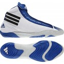 adiZERO Sydney Wrestling Shoes silver grey-royal-black