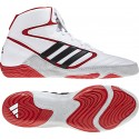 Mat Wizard 4 IV Wrestling Shoes white-red-black