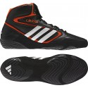 Mat Wizard 4 IV Wrestling Shoes black-orange-white