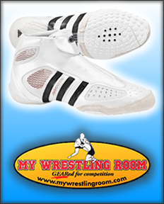 White Wrestling Shoes