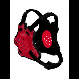 Cliff Keen Custom Tornado Headgear scarlet/black/black