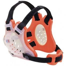 Cliff Keen Custom Tornado Headgear transparent/orange/black