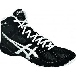 Asics Cael V6.0 Adult Wrestling Shoes black-silver