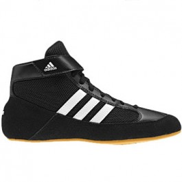 Adidas HVC Youth LACED Wrestling Shoes black-white-gum