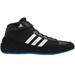 Adidas HVC Wrestling Shoes black-white-blue