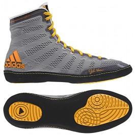 Adidas adizero Varner Wrestling Shoes grey-black-gold