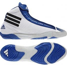 Adidas adiZERO Sydney Wrestling Shoes grey-royal-black