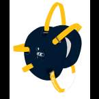 Cliff Keen Custom Signature Headgear navy/light gold