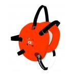 Cliff Keen Custom Signature Headgear orange/black