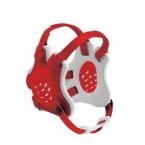 Cliff Keen Custom Tornado Headgear scarlet/white/scarlet