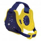Cliff Keen Custom Twister Headgear navy/lt gold/navy