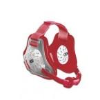 Cliff Keen Custom Twister Headgear transparent/scarlet/scarlet