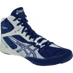 Asics Cael V5.0  Wrestling Shoes navy-silver-white