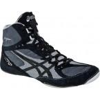 Asics Cael V5.0  Wrestling Shoes black-black-silver